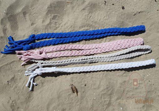 pasek pleciony sznur kolory