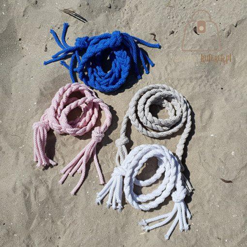 pasek pleciony sznur kolory kolor cztery