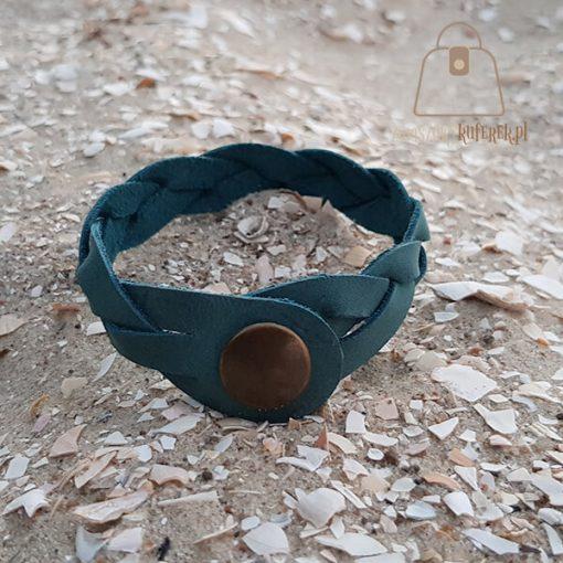 turkusowa bransoletka