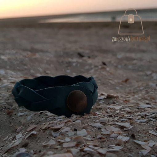 turkusowa bransoletka plaża