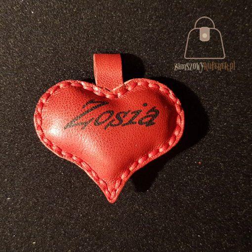 brelok serce logo