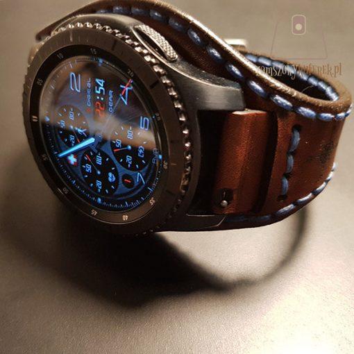 Skórzany pasek do smartwatch