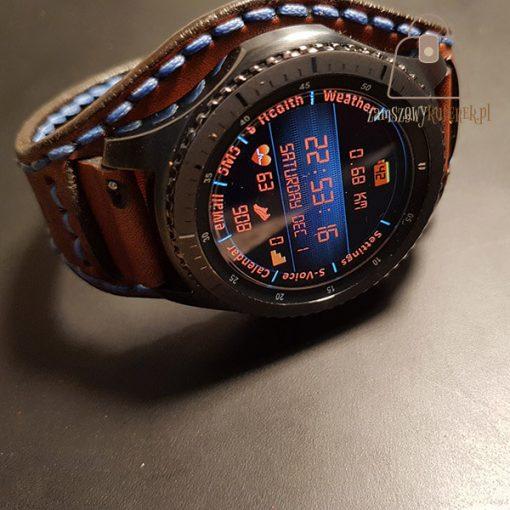 Skórzany pasek do smartwatch szef
