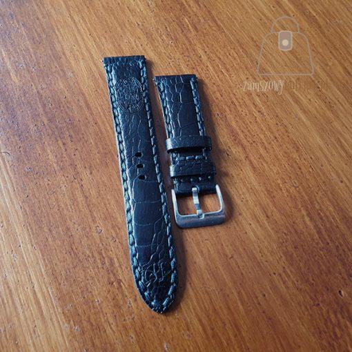 Skórzany pasek do zegarka łapa strusia