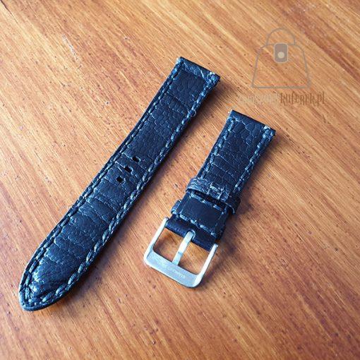 Skórzany pasek do zegarka łapa strusia tył