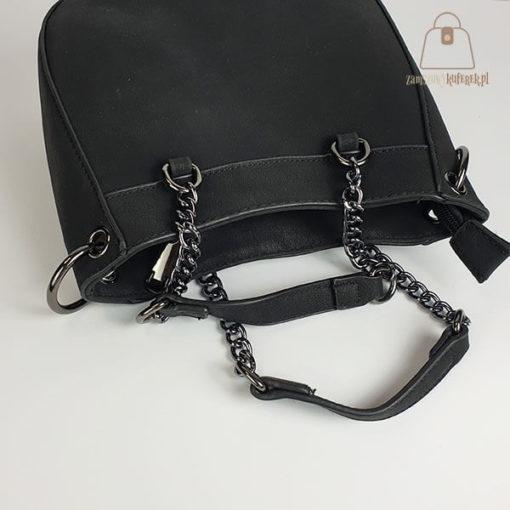 Mała torebka czarna rączki