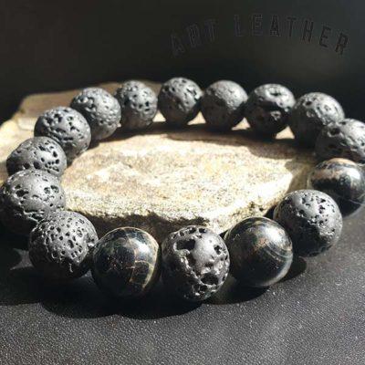 Bransoletka z kamieni naturalnych