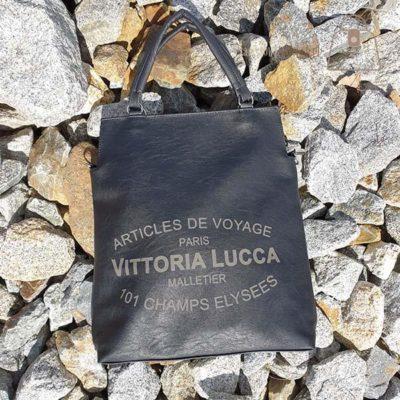 Torebka Vittoria Lucca czarna