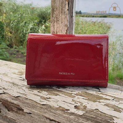 Czerwony portfel damski Patrizia Piu
