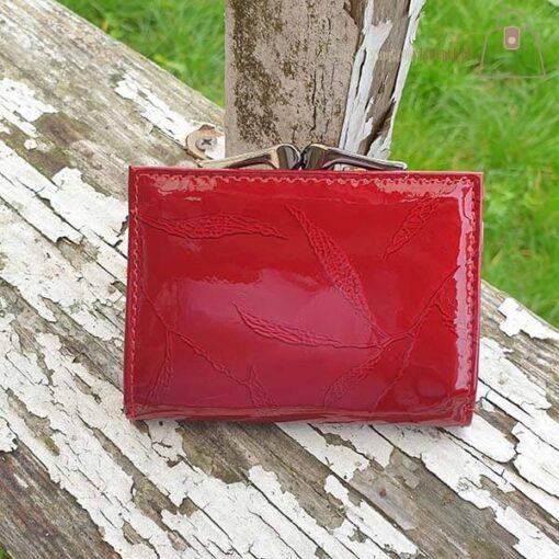Mały portfel damski ze skóry Lorenti tył
