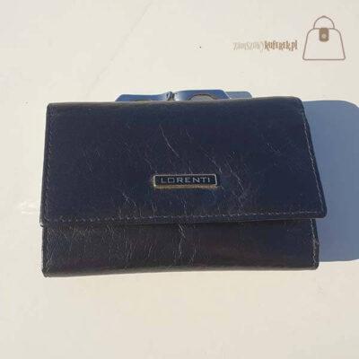 Skórzany portfel damski Lorenti