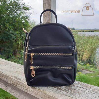 Czarny plecak 2w1