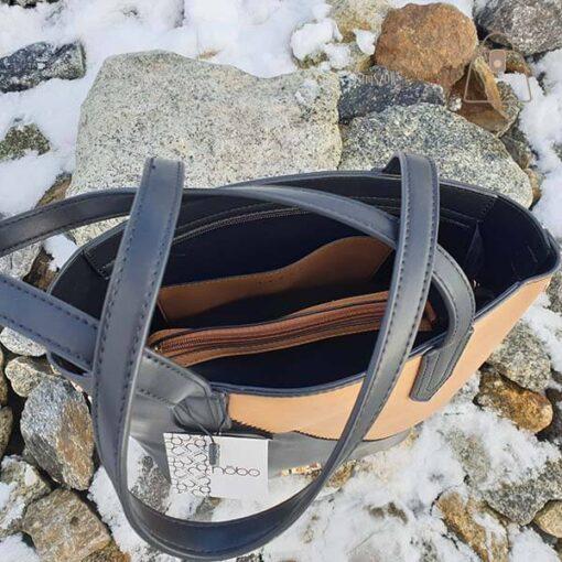 Sztywna torebka damska Nobo detal