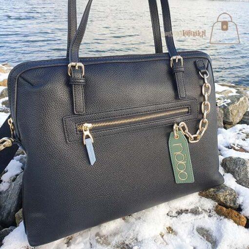 Nobo shopper torba na laptopa zamek