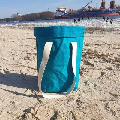 Torba z washpapy granatowa morska