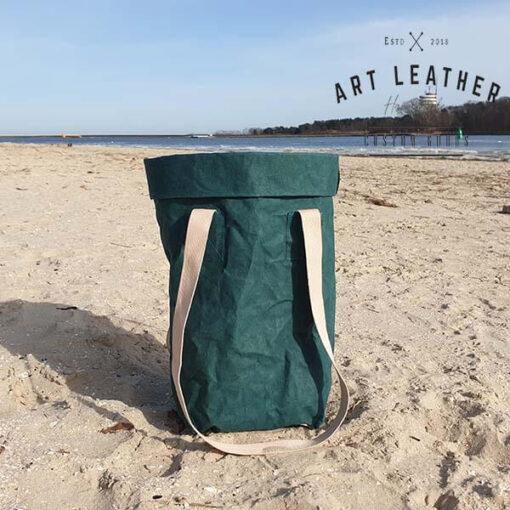 Torba z washpapy granatowa zielona morze