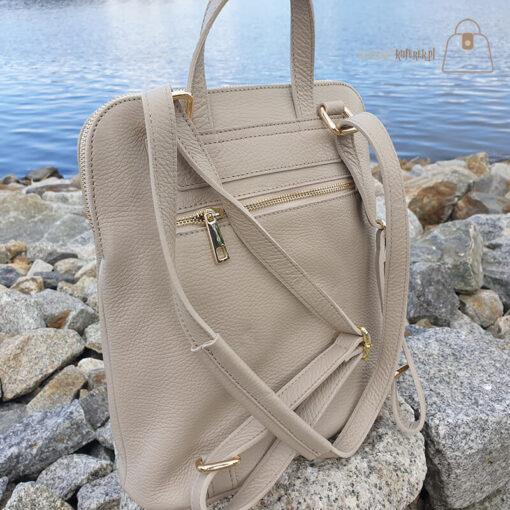 Plecak torebka Laura Biaggi tył