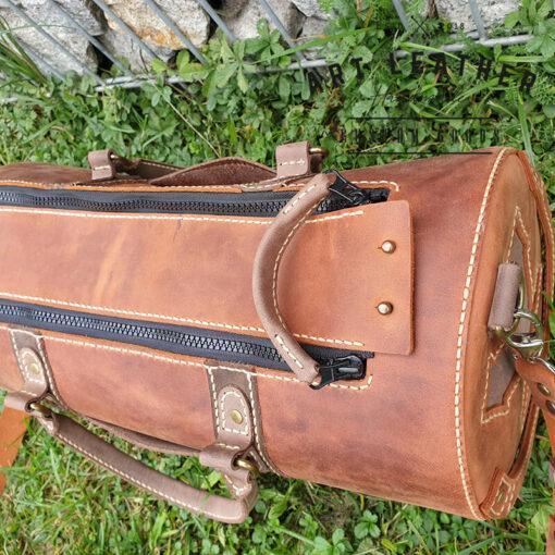 Skórzana torba Arti rozmiar M napy